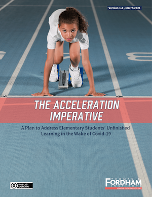 Cover: The Acceleration Imperative
